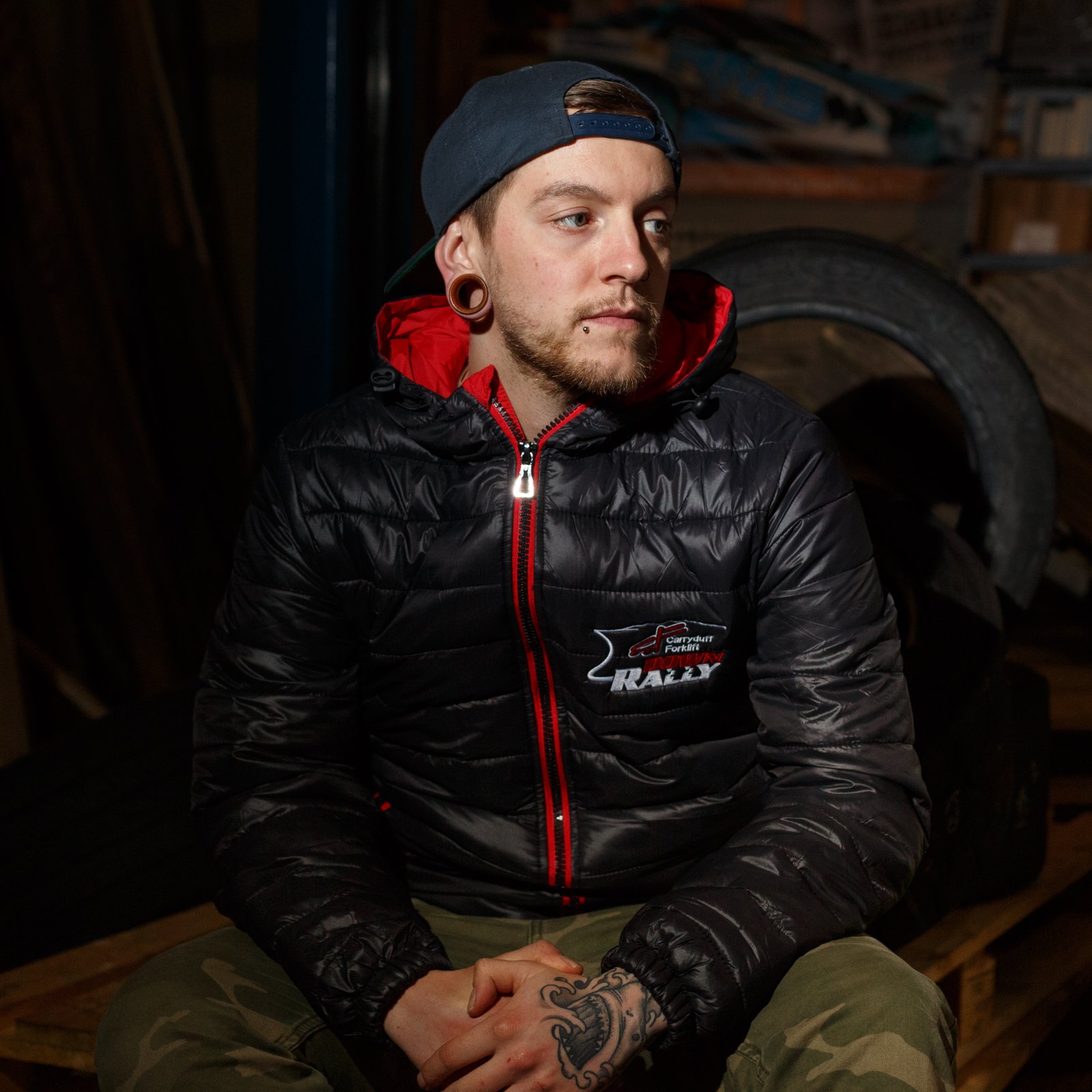 Down Rally Jacket