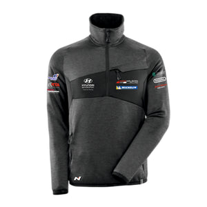 James Wilson Rallying Fleece 1/4 Zip Jumper