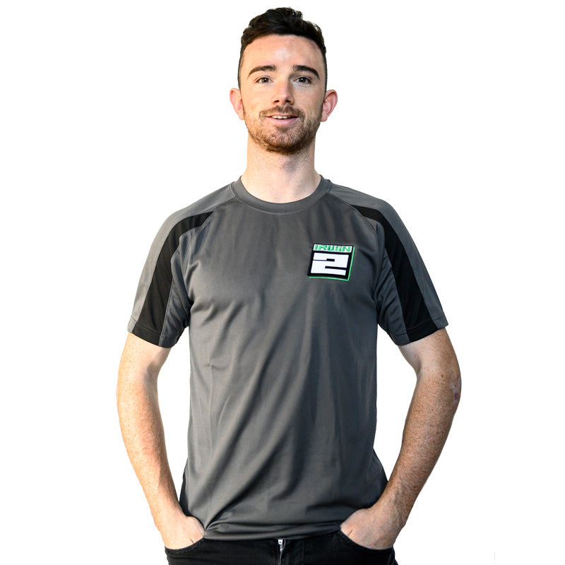 Glenn Irwin Sports Round Neck T-shirt