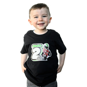 Glenn Irwin Kids Round Neck T-shirt