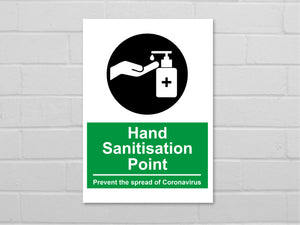 Hand Sanitisation Sign