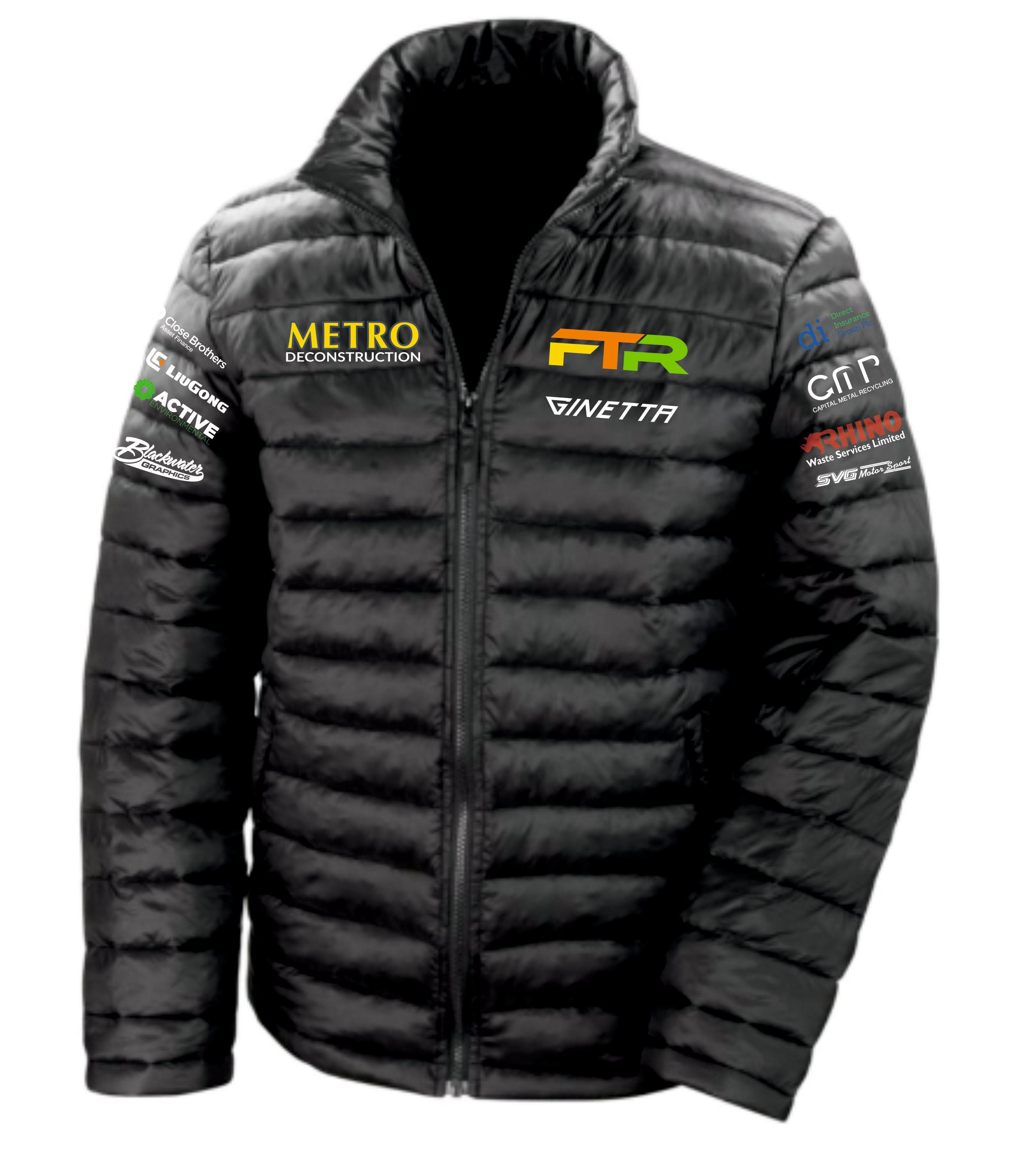 Frankie Taylor Racing Padded Jacket (non-hooded)