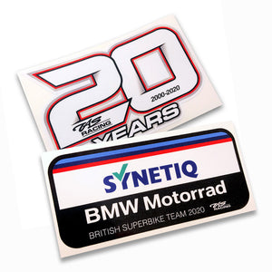 SYNETIQ BMW / TAS Racing Sticker Bundle