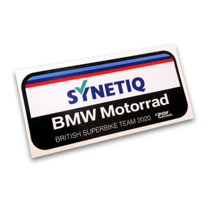 SYNETIQ BMW Sticker