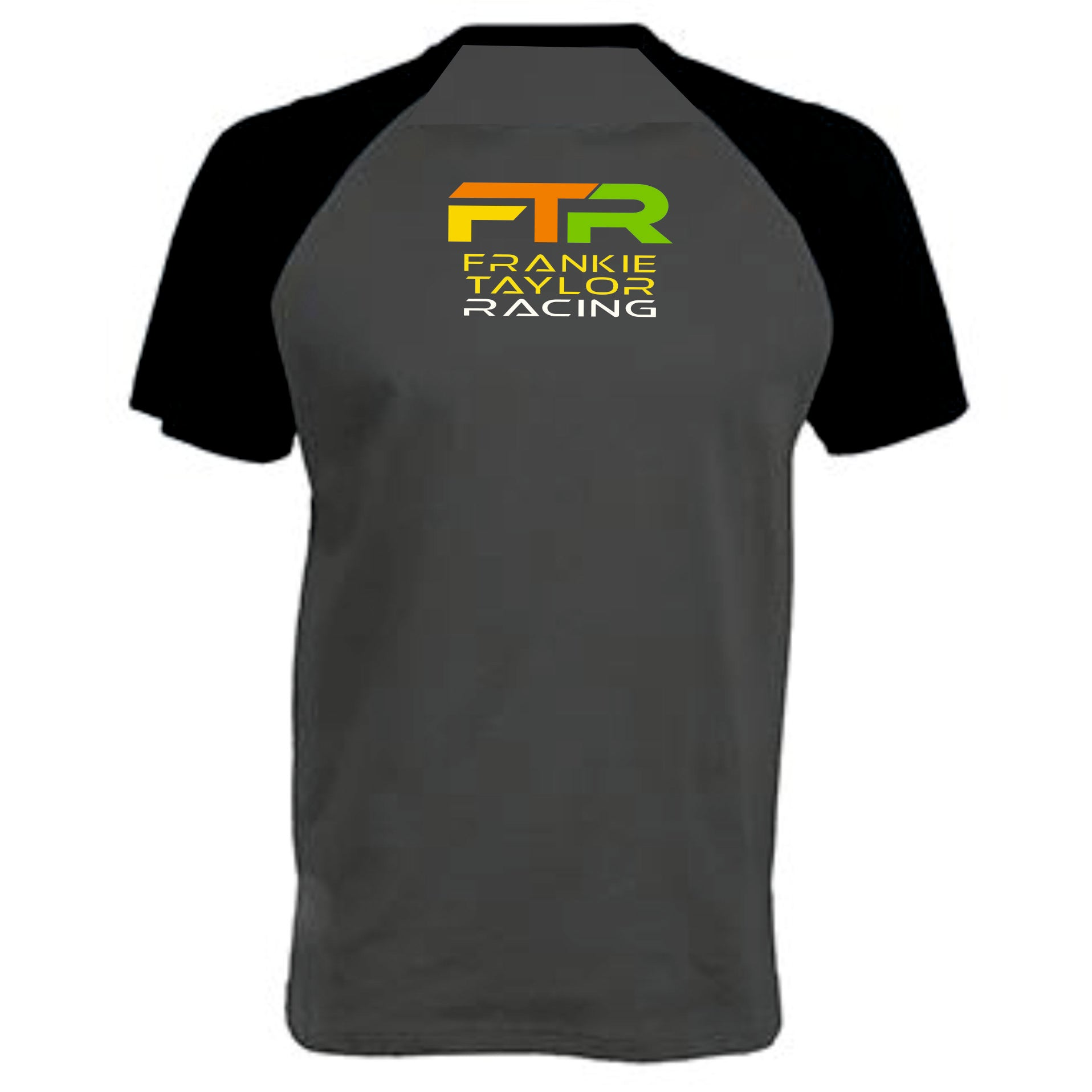 Frankie Taylor Racing Printed Baseball T-Shirt