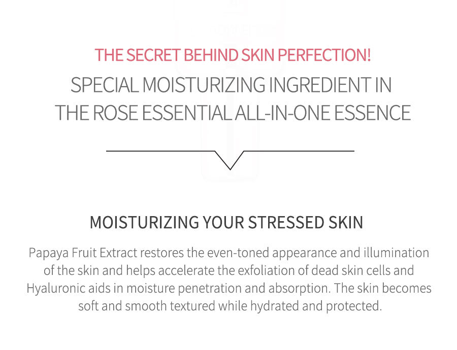 ROSE ESSENTIAL ALL IN ONE ESSENCE