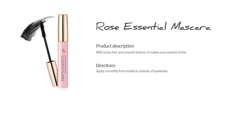 ROSE ESSENTIAL MASCARA