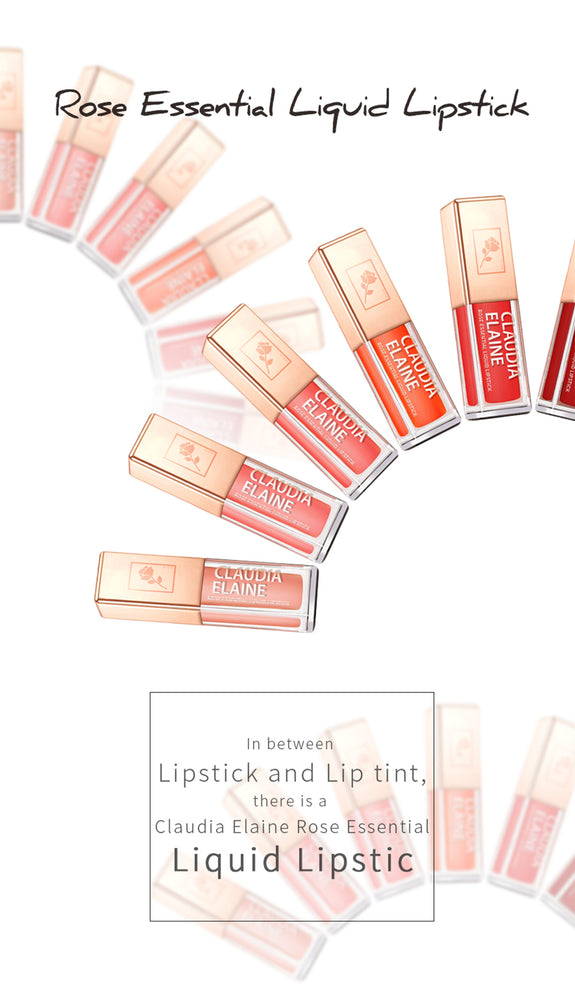 ROSE ESSENTIAL LIQUID LIPSTICK4 ORANGE BLOSSOM