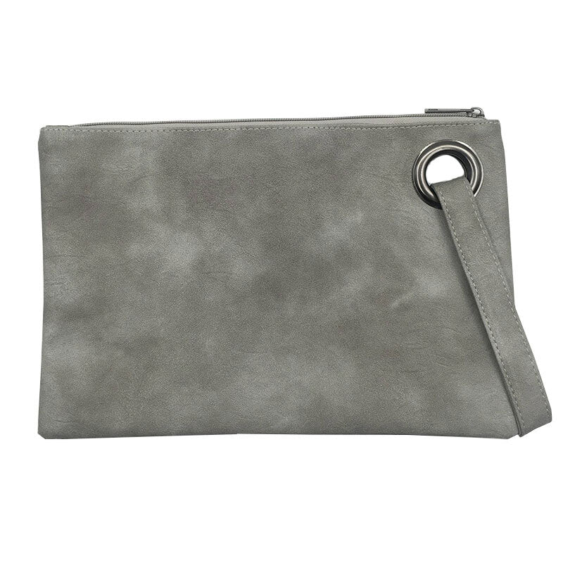 Envelope Clutch Wrist Strap - Steel