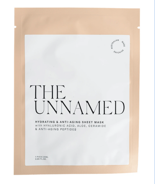 The Unnamed Sheet Face Mask - Hydrating