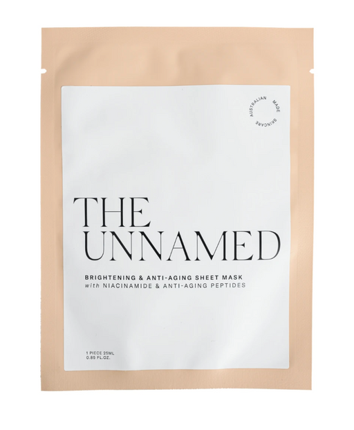 The Unnamed Sheet Face Mask - Brightening & Anti Aging
