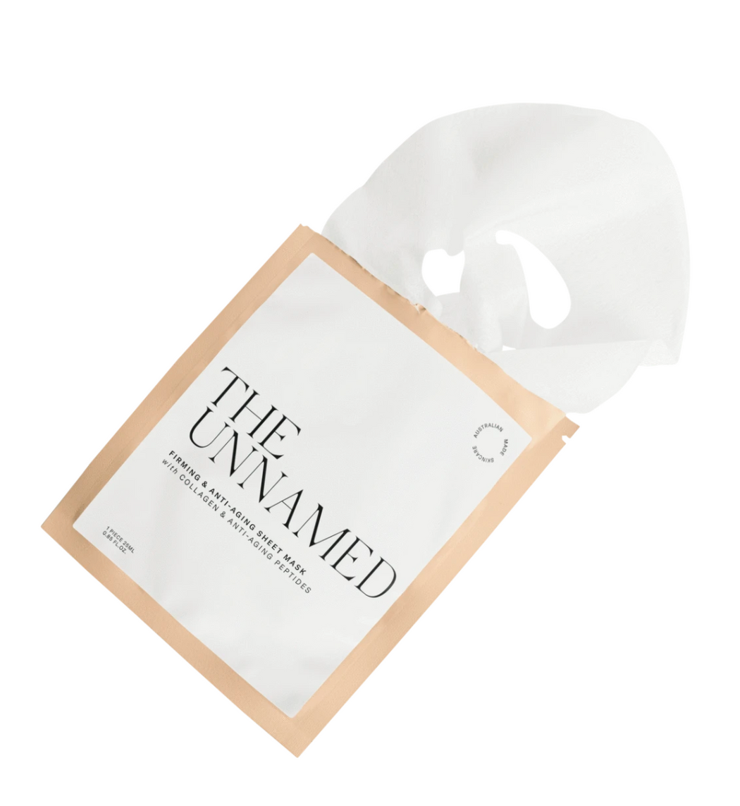 The Unnamed Sheet Face Mask - Firming & Anti Aging