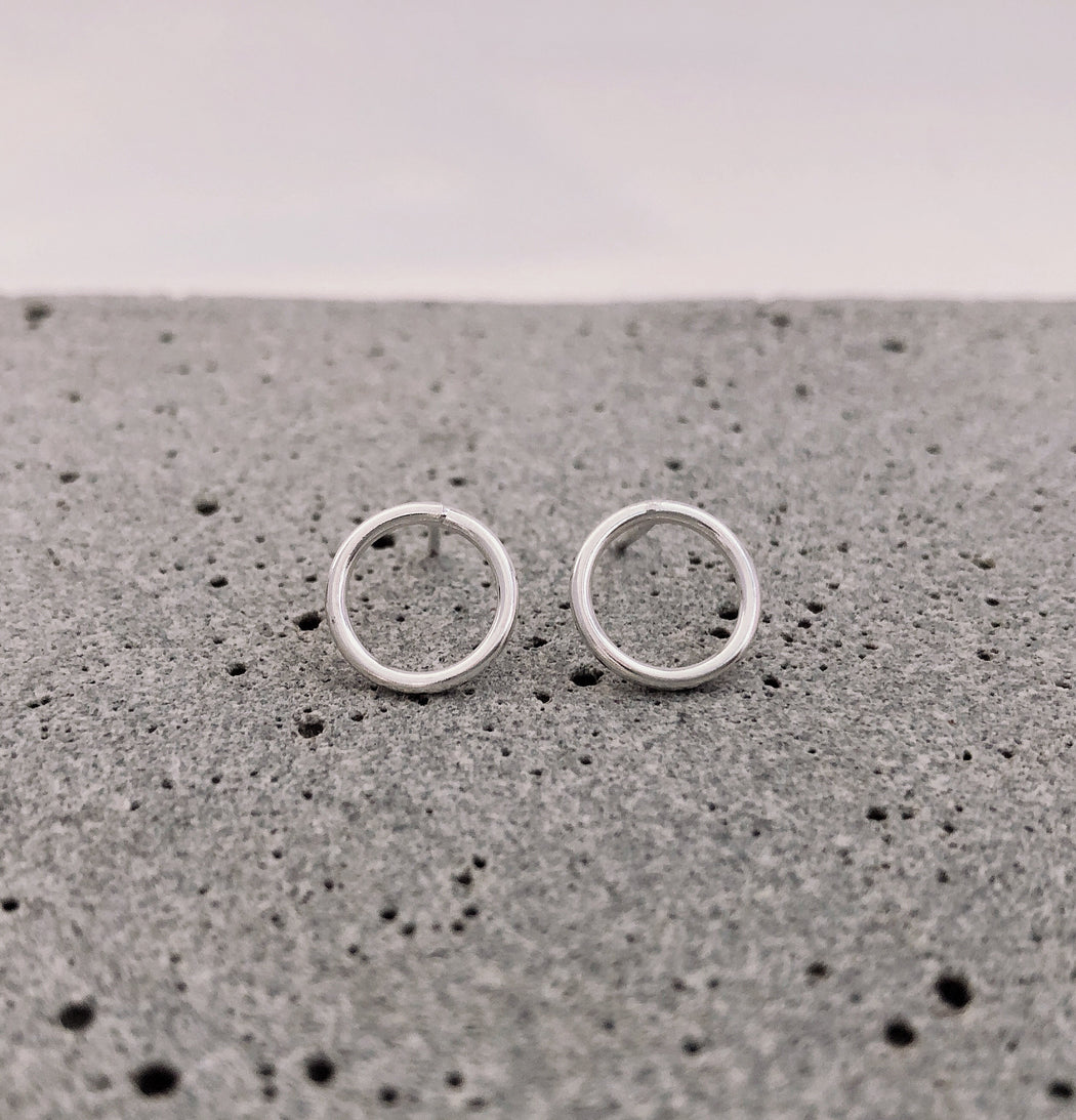970 Sterling Silver Studs by Gaviota - Infiity Large