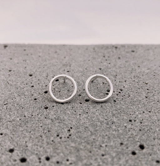 970 Sterling Silver Studs by Gaviota - Infinity Large