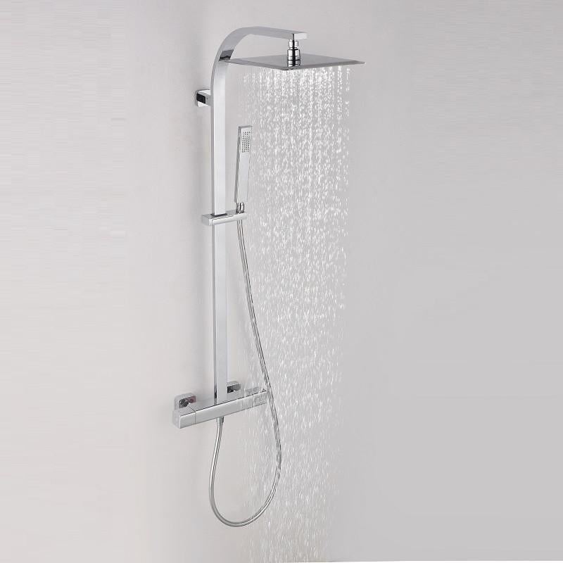 Colonne de douche thermostatique PANI, avec technologies Air+® et KeepCool®