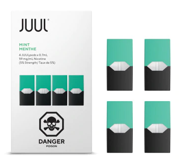 JUUL Pods 5% (Pack of 4) - Mint