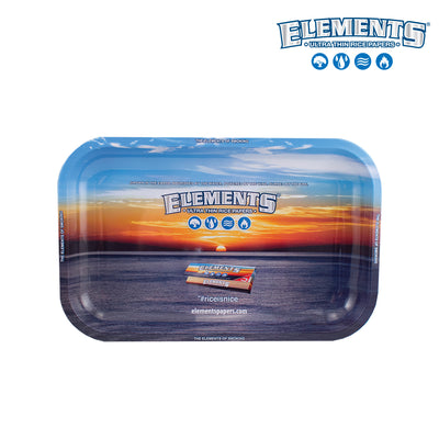 ELEMENTS METAL ROLLING TRAY – Small