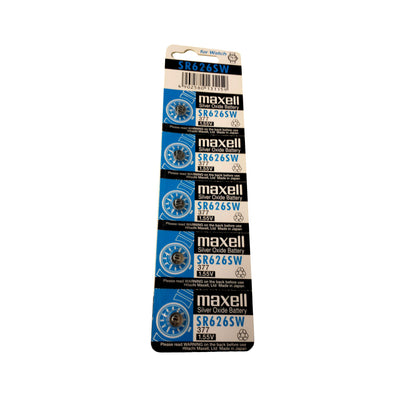 Maxell SR626SW 1 Card (5 pcs)