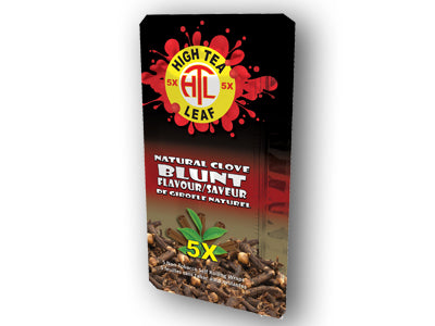 High Tea Leaf 25-Pack Box - Natural Clove