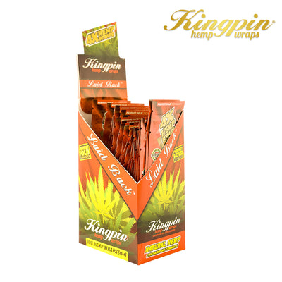 KINGPIN HEMP WRAPS – LAID BACK