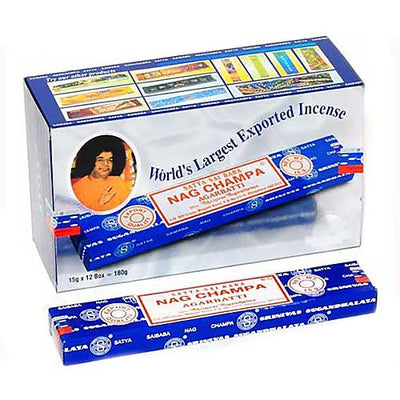 Genuine Nag Champa Incense 15g. Dozen 12 packs