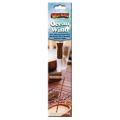 Wildberry Incense Ocean Wind Package 15 sticks
