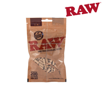 RAW Filters Bag 200's CELLULOSE SLIM