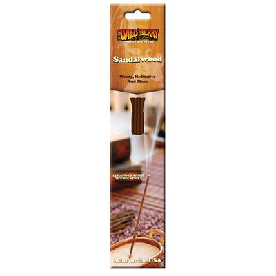 Wildberry Incense Sandalwood Package 15 sticks