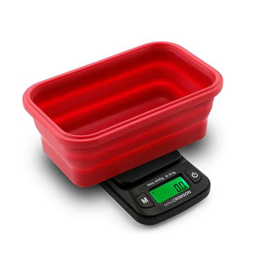 MINICRIMSON Collapsible Bowl Scale 100g x 0.01g