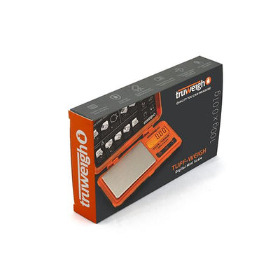 TUFF-WEIGH Digital Mini Scale 100 g x 0.01 g Orange/Black