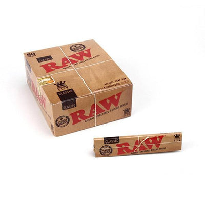 RAW Classic King Size 50packs (1Box)