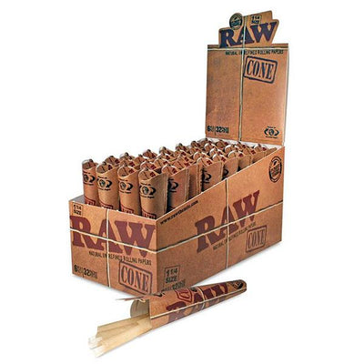 RAW Cone 1 1/4 32 packs 6pcs (1Box)