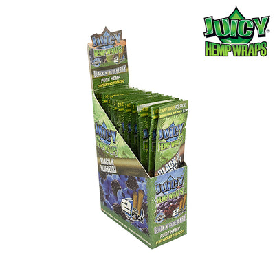 Juicy Hemp Wraps Black & Blueberry