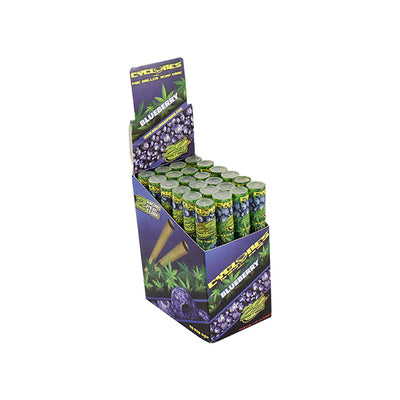 CYCLONE HEMP WRAPS - BLUEBERRY