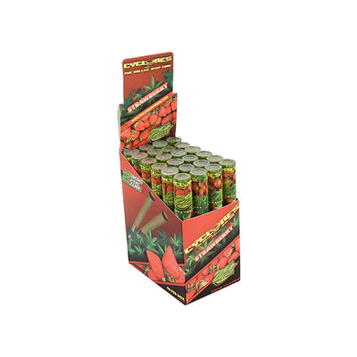 CYCLONE HEMP WRAPS - STRAWBERRY