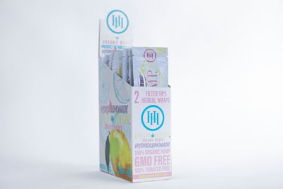 High Hemp Organic Wraps Hydro Lemonade 25packs box