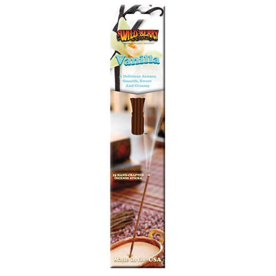 Wildberry Incense Vanilla Package 15 sticks
