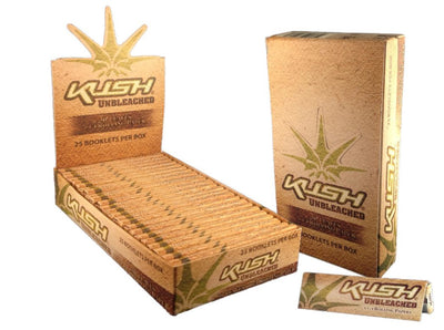 KUSH NATURAL UNBLEACHED 1 1/4 Rolling paper