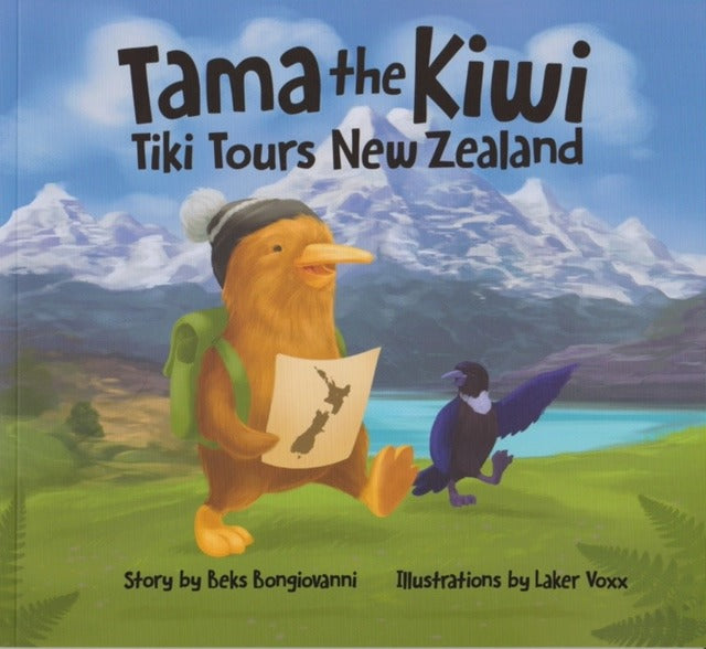Tama the Kiwi Tiki Tours New Zealand