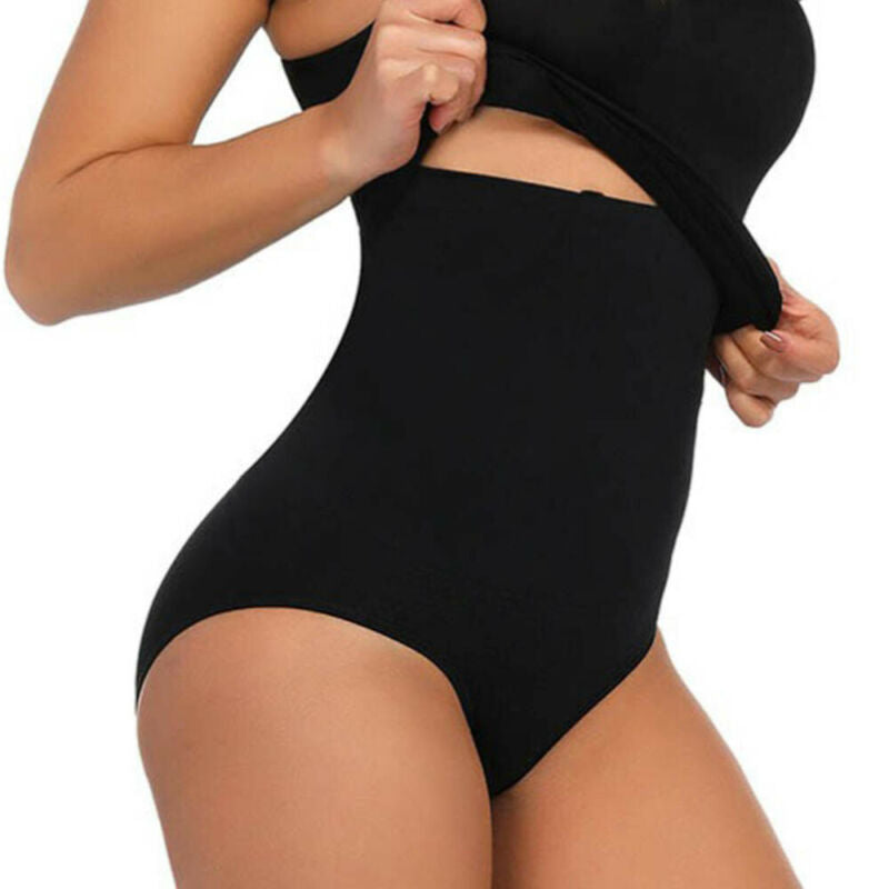 Ex Next Firm Control Shapewear Knickers for Bum and Tum in Black