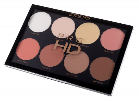 Revolution Pro HD Mega Matte Powder Face Contour & Blush Palette
