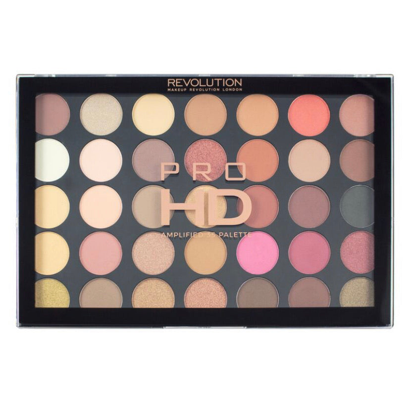 Revolution Pro HD Socialite Rose Gold Eyeshadow Palette