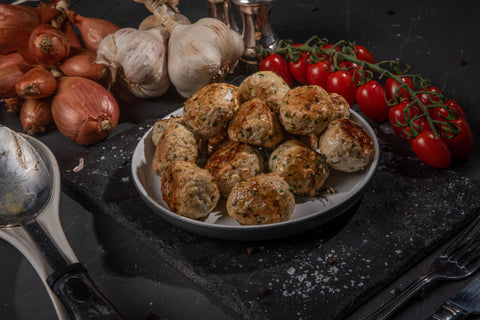 Extra Lean Chicken Meatballs (24 x 45g Pack) - 100% Breast Meat