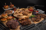 Big BBQ Bumper (Steak Burgers, Chicken Legs, Kebabs, Lamb Chops & Sausages Selection Box)