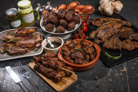 Lamb Lovers Box (Lamb, Chops, Kebabs, Meatballs & Steaks Selection)