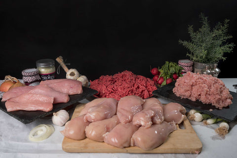 Protein Pack (Chicken Breasts and Mince & Turkey Breasts and Mince Selection Box)