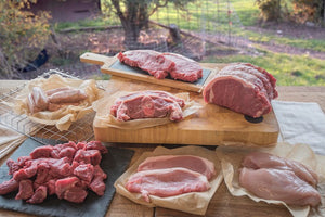 Meat Box - Steak - Beef - Lamb - Pork - Chicken Family Meat
