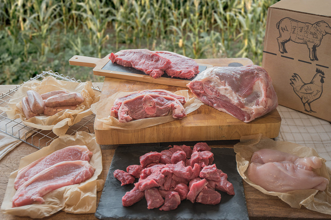 Meat Box - Steak - Beef - Lamb - Pork - Chicken