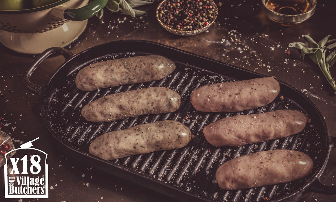 18x Premium Pork Sausages