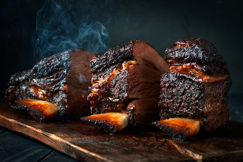 Smoked Beef Short Rib Jacobs Ladder